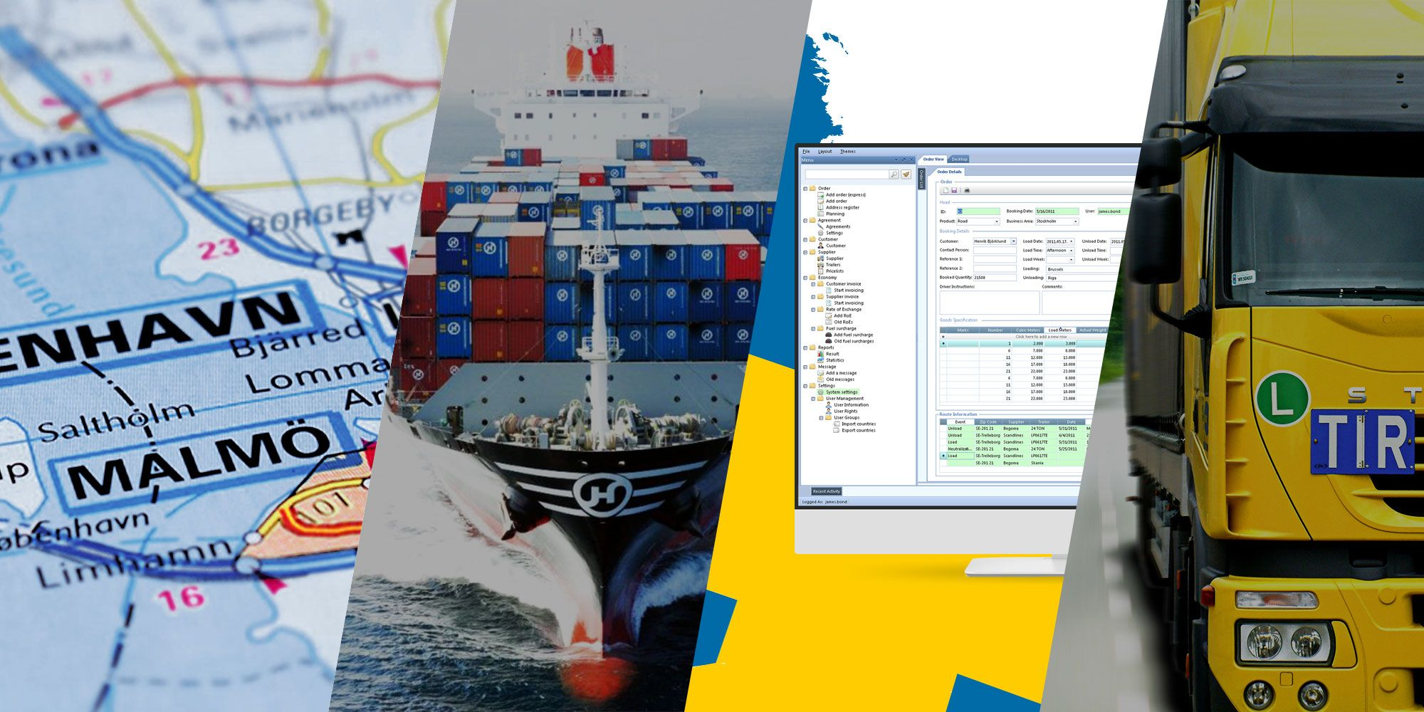 Web, Mobile and Desktop apps for Freight Forwarding Companies