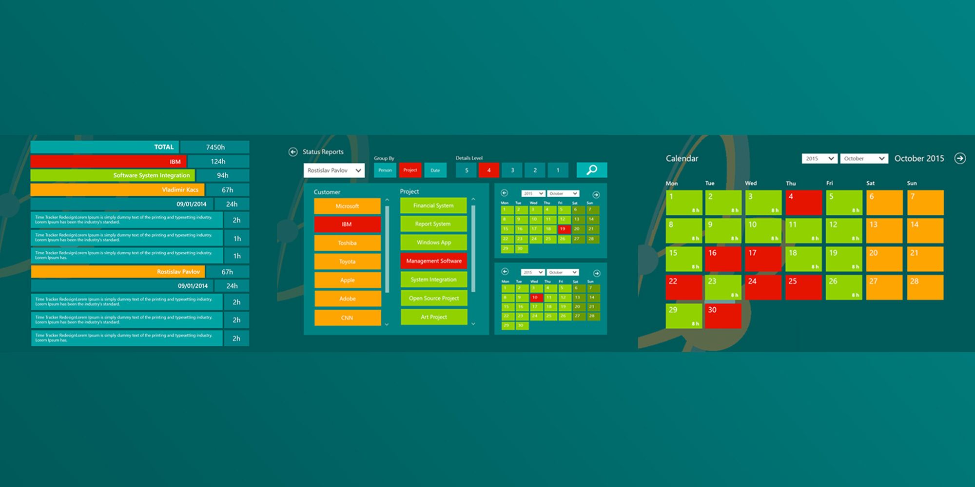 Metro UI Design - Discovering a Completely New Design Concept