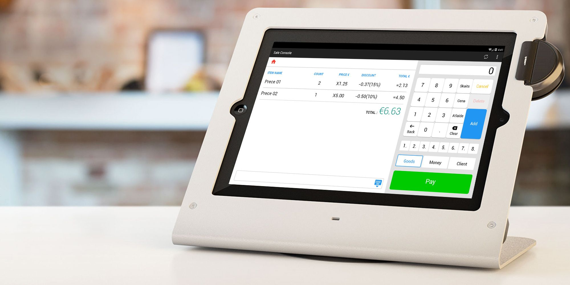 Improving the stability of POS product with Automated UI tests