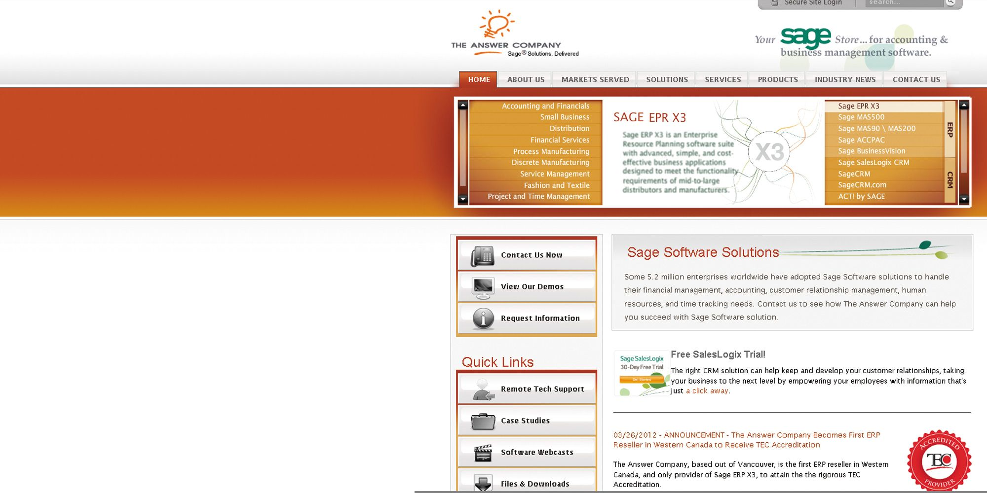 Web Solution For Business Management